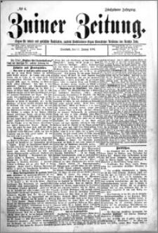 Zniner Zeitung 1902.01.11 R.15 nr 4