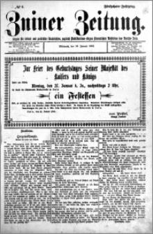 Zniner Zeitung 1902.01.18 R.15 nr 6