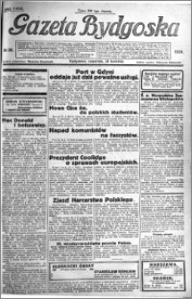 Gazeta Bydgoska 1924.04.24 R.3 nr 96
