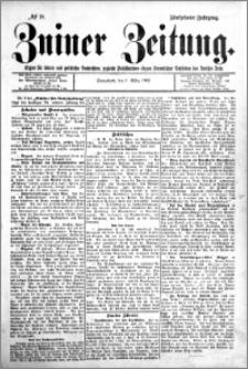 Zniner Zeitung 1902.03.01 R.15 nr 18