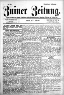 Zniner Zeitung 1902.06.11 R.15 nr 45