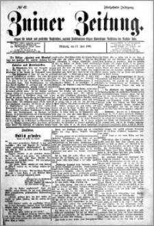 Zniner Zeitung 1902.06.18 R.15 nr 47
