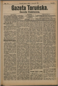 Gazeta Toruńska 1911, R. 47 nr 176