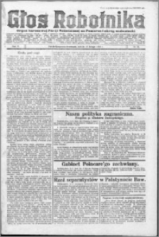 Głos Robotnika 1924, R. 5 nr 21