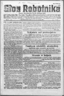 Głos Robotnika 1924, R. 5 nr 49