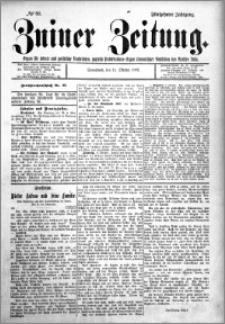 Zniner Zeitung 1902.10.11 R.15 nr 80