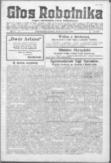 Głos Robotnika 1924, R. 5 nr 107