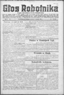 Głos Robotnika 1924, R. 5 nr 108