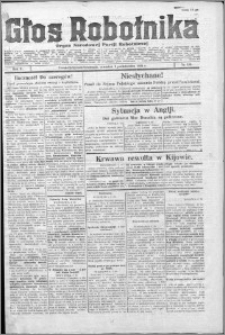 Głos Robotnika 1924, R. 5 nr 120