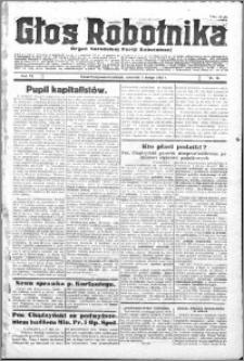 Głos Robotnika 1925, R. 6 nr 16