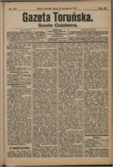 Gazeta Toruńska 1911, R. 47 nr 215
