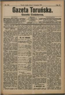 Gazeta Toruńska 1911, Listopad