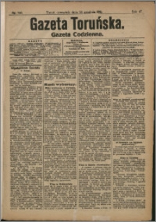 Gazeta Toruńska 1911, R. 47 nr 296