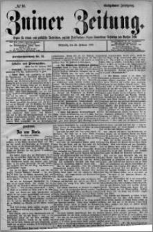 Zniner Zeitung 1903.02.25 R.16 nr 16