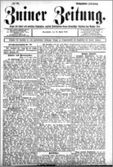 Zniner Zeitung 1903.04.18 R.16 nr 30
