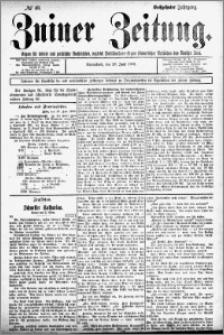 Zniner Zeitung 1903.06.20 R.16 nr 48