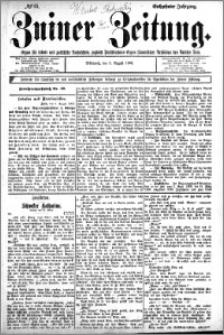 Zniner Zeitung 1902.08.05 R.16 nr 61