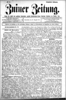 Zniner Zeitung 1902.08.15 R.16 nr 64