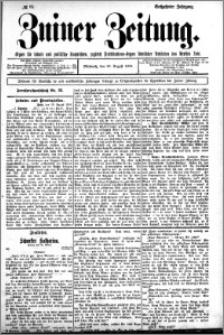 Zniner Zeitung 1902.08.19 R.16 nr 65
