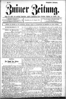 Zniner Zeitung 1902.08.22 R.16 nr 66