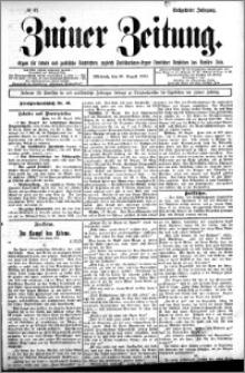 Zniner Zeitung 1902.08.26 R.16 nr 67