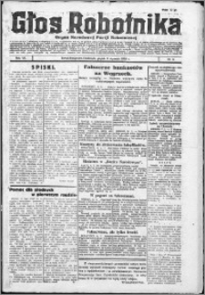 Głos Robotnika 1926, R. 7 nr 5