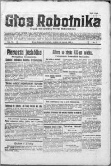 Głos Robotnika 1926, R. 7 nr 7