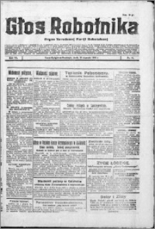 Głos Robotnika 1926, R. 7 nr 10