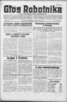 Głos Robotnika 1926, R. 7 nr 201