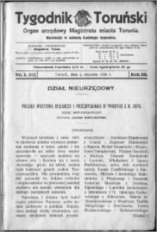 Tygodnik Toruński 1926, R. 3, nr 1