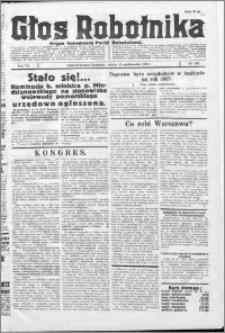 Głos Robotnika 1926, R. 7 nr 267