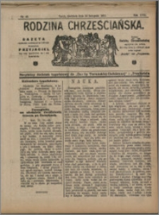 Rodzina Chrześciańska 1911 nr 46
