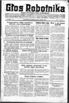 Głos Robotnika 1927, R. 8 nr 3
