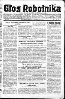 Głos Robotnika 1927, R. 8 nr 5