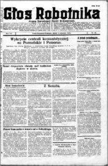 Głos Robotnika 1927, R. 8 nr 10