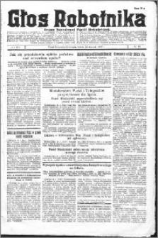 Głos Robotnika 1927, R. 8 nr 17
