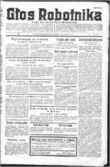 Głos Robotnika 1927, R. 8 nr 18
