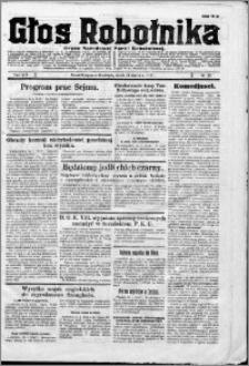 Głos Robotnika 1927, R. 8 nr 20