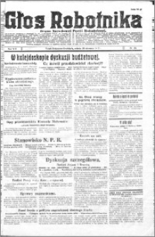 Głos Robotnika 1927, R. 8 nr 23