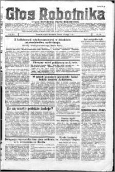 Głos Robotnika 1927, R. 8 nr 25