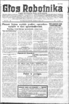 Głos Robotnika 1927, R. 8 nr 29