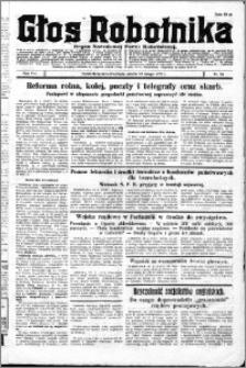 Głos Robotnika 1927, R. 8 nr 34
