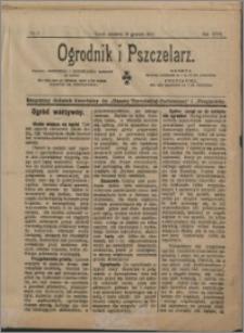 Ogrodnik i Pszczelarz 1911 nr 5