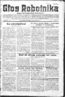 Głos Robotnika 1927, R. 8 nr 55