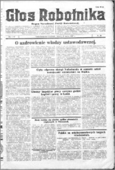 Głos Robotnika 1927, R. 8 nr 60