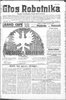 Głos Robotnika 1927, R. 8 nr 89