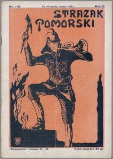 Strażak Pomorski 1928, R. 2 nr 1