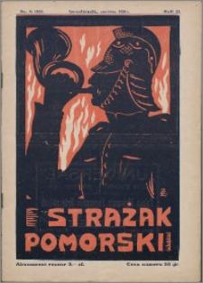 Strażak Pomorski 1928, R. 2 nr 6