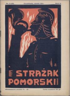 Strażak Pomorski 1928, R. 2 nr 8