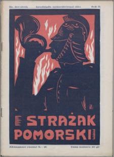 Strażak Pomorski 1928, R. 2 nr 10/11